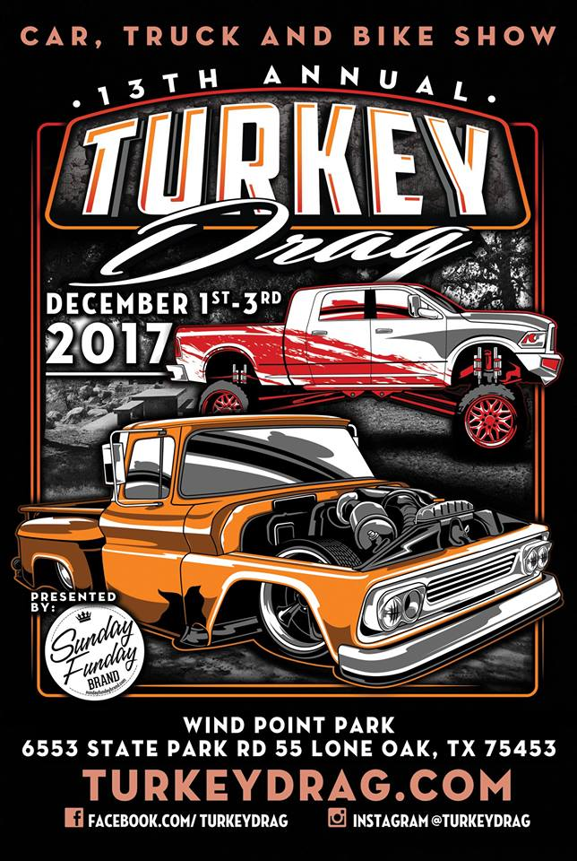 12-1-3-2017 Turkey Drag Texas