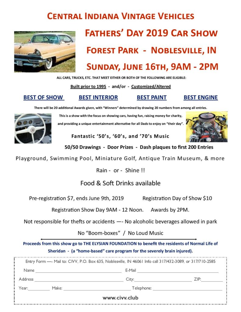 Indiana 2019 Car Show Car Shows And Automotive Events