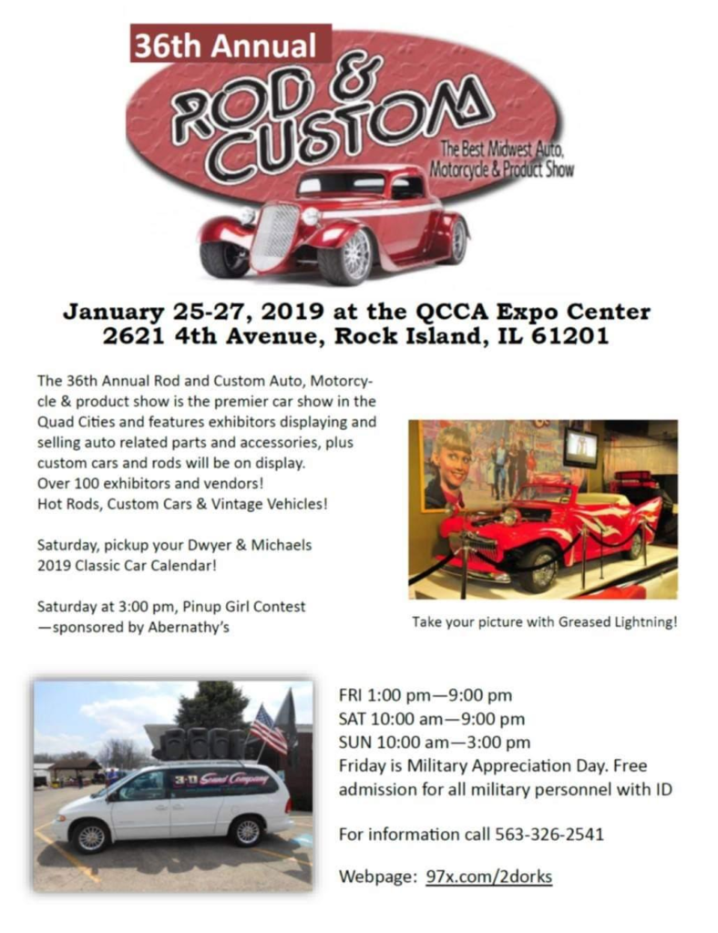Auto Show Calendar 2019 Illinois 2019 Car Show, car shows and automotive events