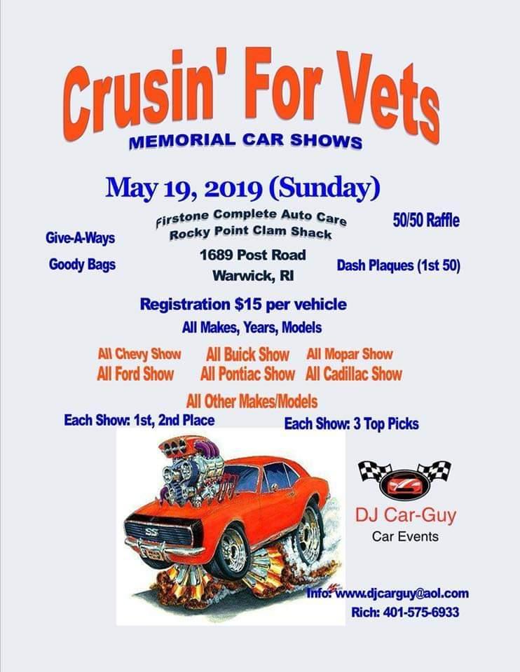 Rhode Island Car Show, car shows and automotive events