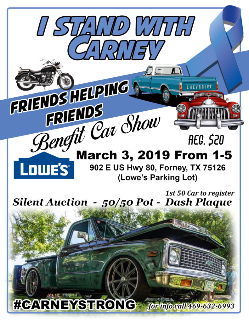 Texas 2019 Car Show, car shows and automotive events