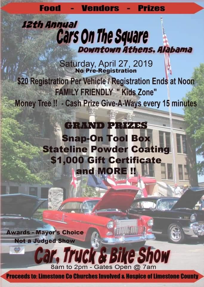 Alabama 2019 Car Show, car shows and automotive events