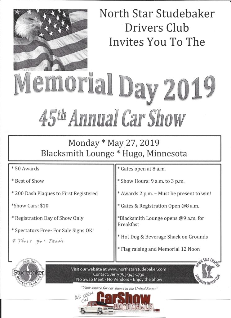 Minnesota May Car Show, car shows and automotive events