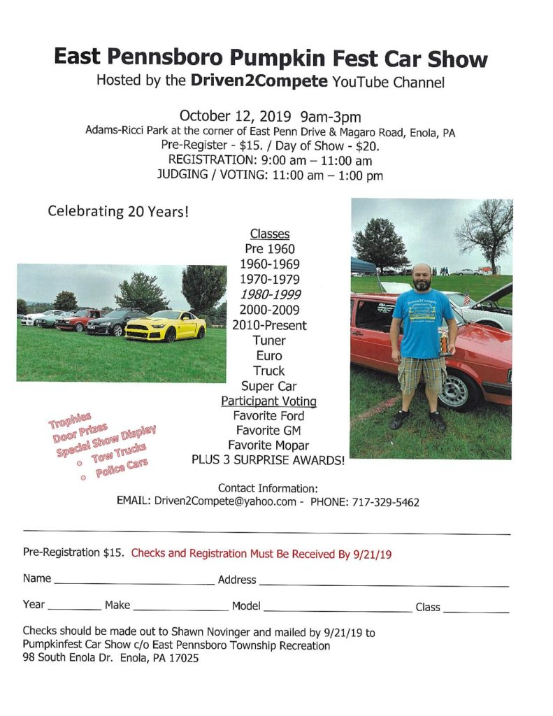 Pennsylvania Car Show, car shows and automotive events