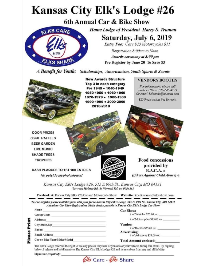 Missouri Car Show, car shows and automotive events